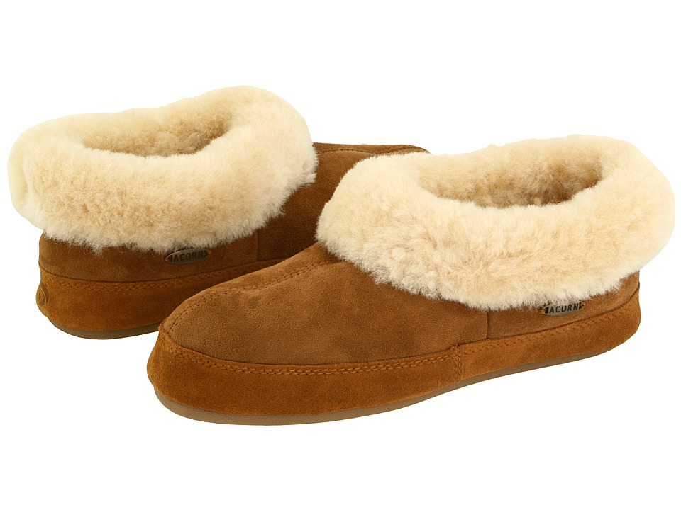 Acorn Oh Ewe II (Walnut Brown Sheepskin) Slippers