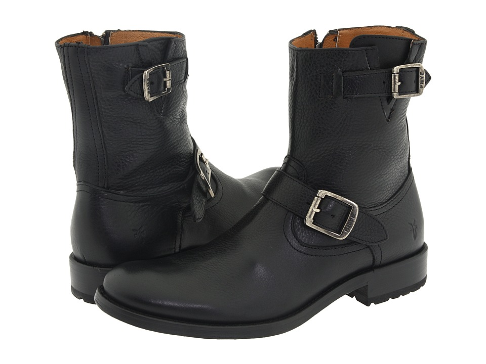 Frye - Jackson Inside Zip (Black) Men