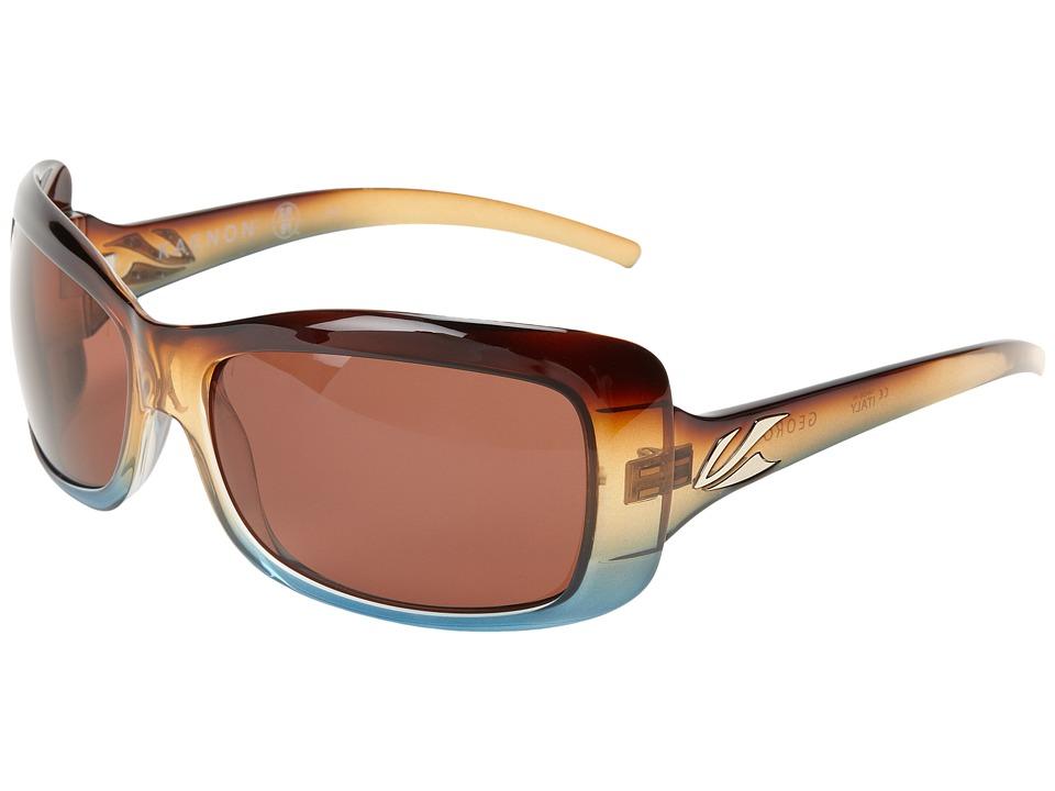 Kaenon Georgia SR91 (Polarized) (Tobacco Denim C12) Sport Sunglasses