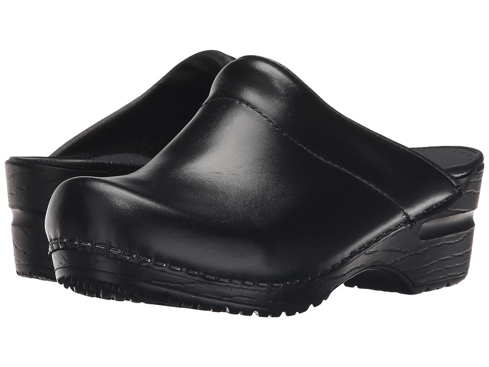 Sanita - Sonja Cabrio (Black Cabrio) Womens Clog/Mule Shoes