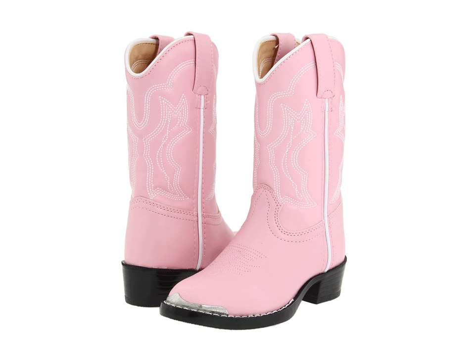 Durango Kids BT858 Toddler/Little Kid Pink Cowboy Boots