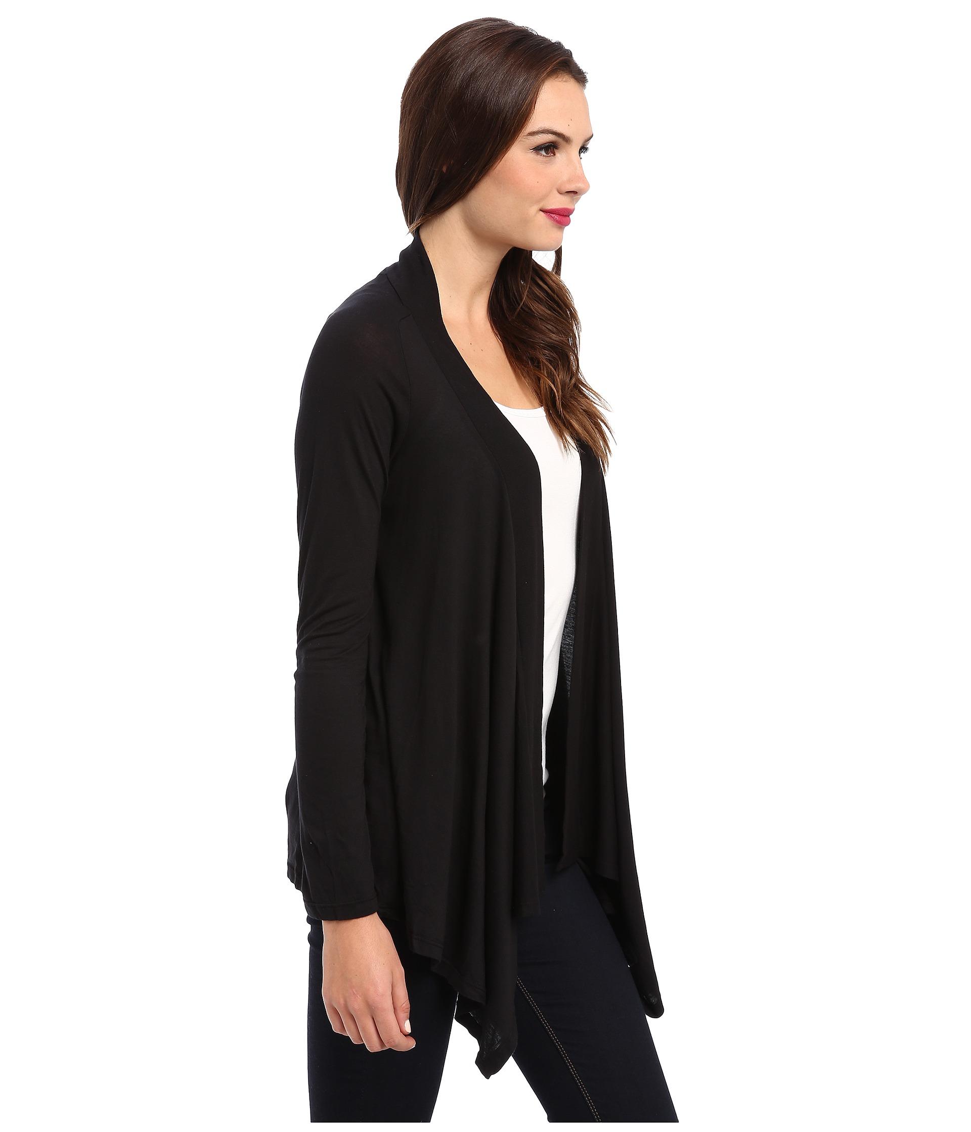 Splendid Very Light Jersey Drape Cardigan At Zappos.com