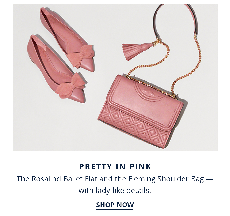 Shop Rosalind Flat and Fleming Bag