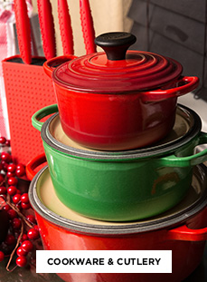 free shipping on all cookware and cutlery