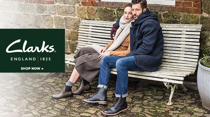 闪购!仅限今日:Clarks 特价区男鞋女鞋额外8折+免邮!
