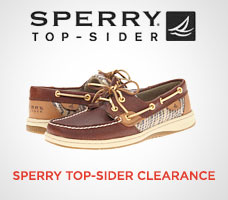sperry-clearance
