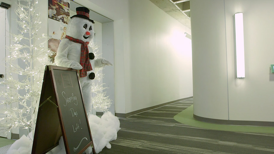 The Snowman Scare