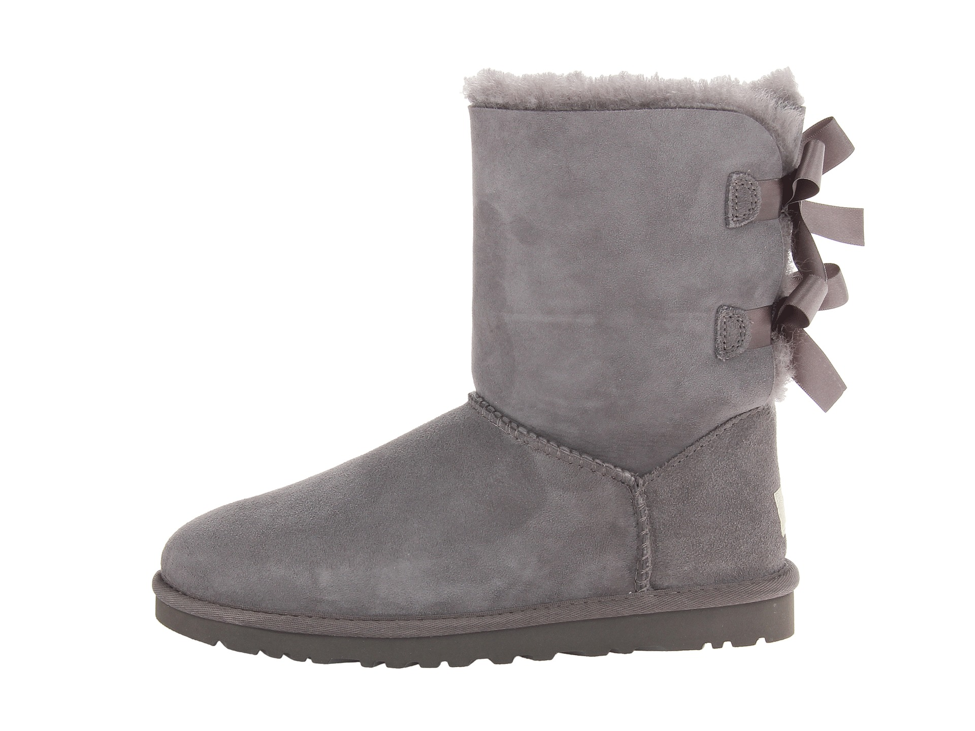 grey ugg bailey bows