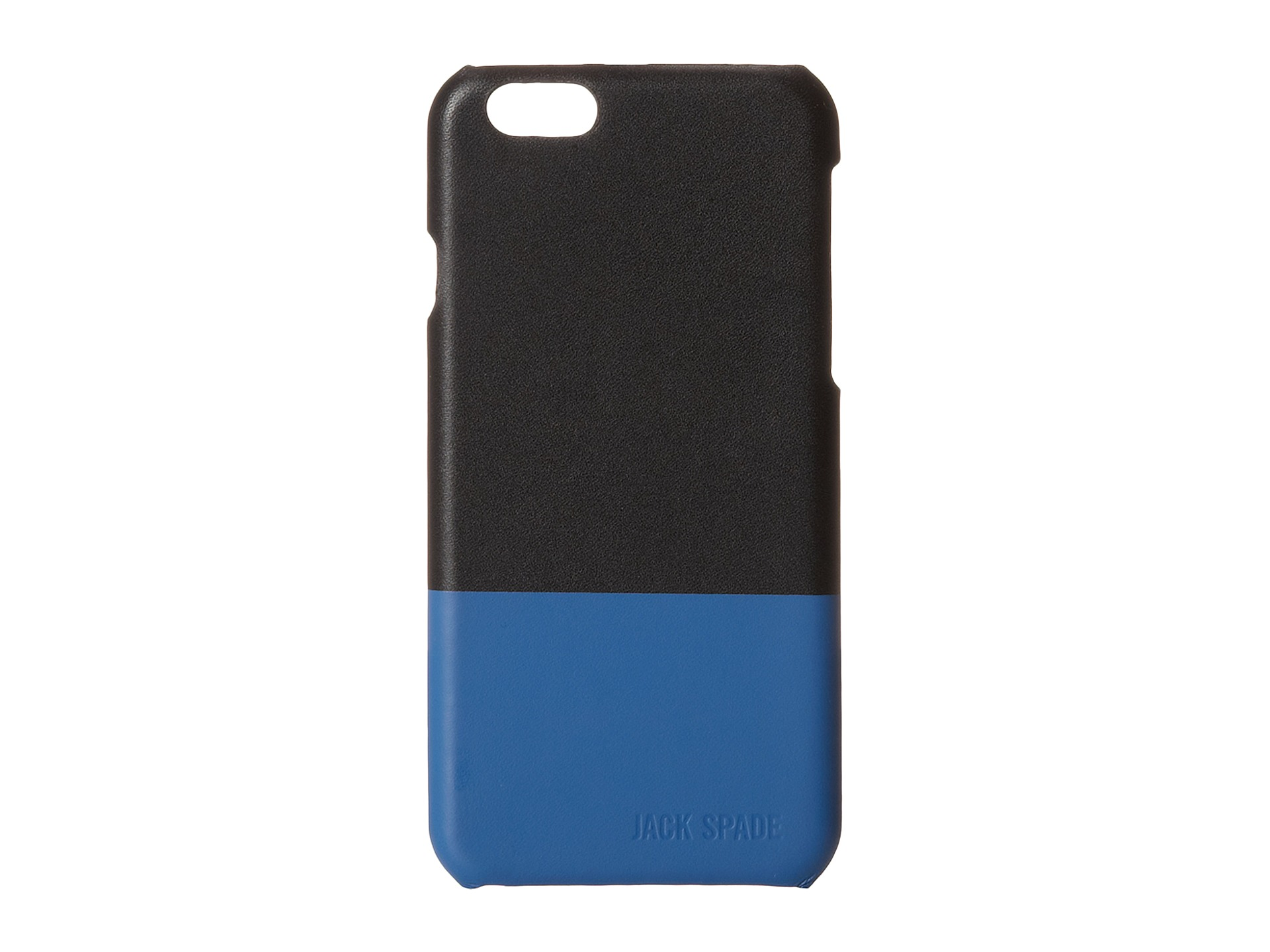 jack spade iphone case spade dipped leather for iphone 6 black blue 15588