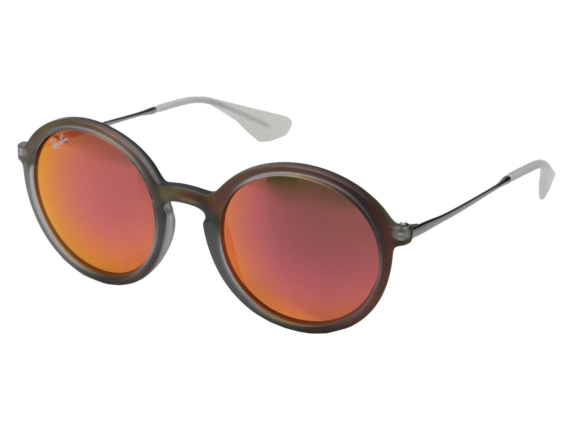 Ray Ban Aviator Sunglasses Red