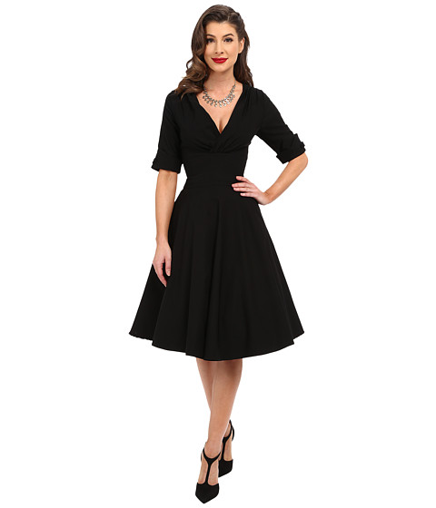 3/4 Sleeve Delores Swing Dress