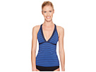 Laser V-Neck Tankini Top