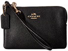 Crossgrain Leather Small Wristlet