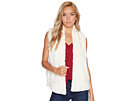Cheerio Swirly Textured Soft Faux Fur Vest