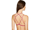 High Neck Strappy Back Bra