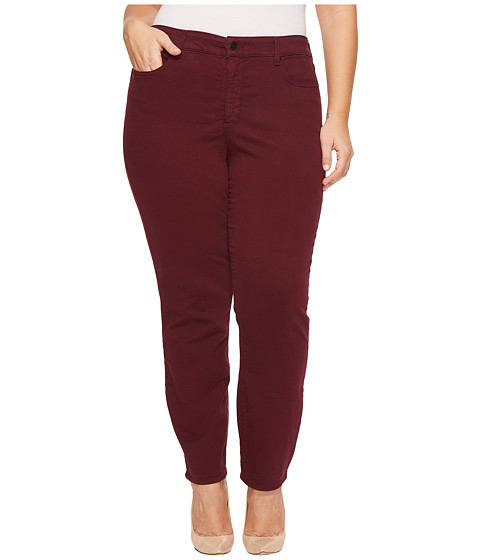 Plus Size Alina Legging Jeans in Deep Currant
