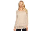 Double Band Knit Top