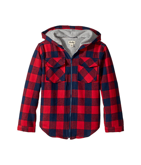 Plaid Lumber Flannel Jacket (Toddler/Little Kids/Big Kids)