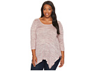 Plus Size Langley Spacedye Knit Top