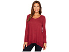 Long Sleeve V-Neck Tunic