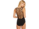 Solid Back Detail One-Piece