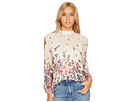 Floral Mixed Print Top