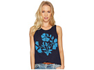 Beaded Floral Tank Top
