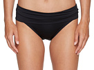 Solid Shirred Waist Bottom