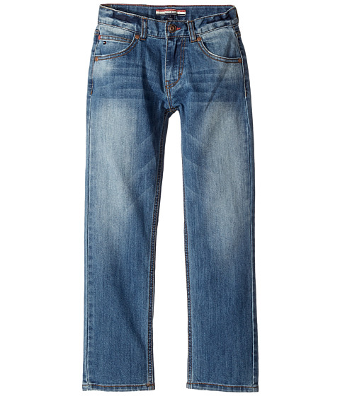 Rebel Stretch Jeans in Stone Blue (Big Kids)