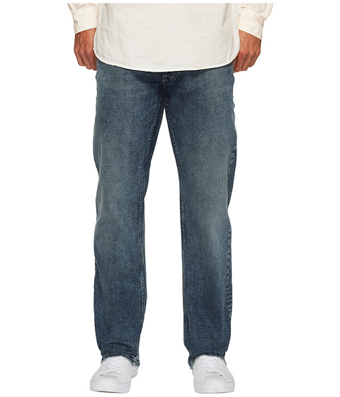 Straight Leg Jeans in Atlas Blue