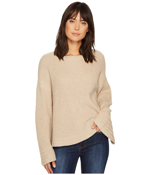 Bell Sleeve Sweater w/ Stitch Detail